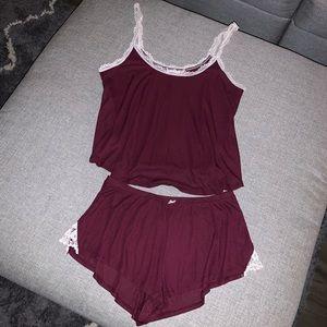 2-piece tank top & shorts pajamas